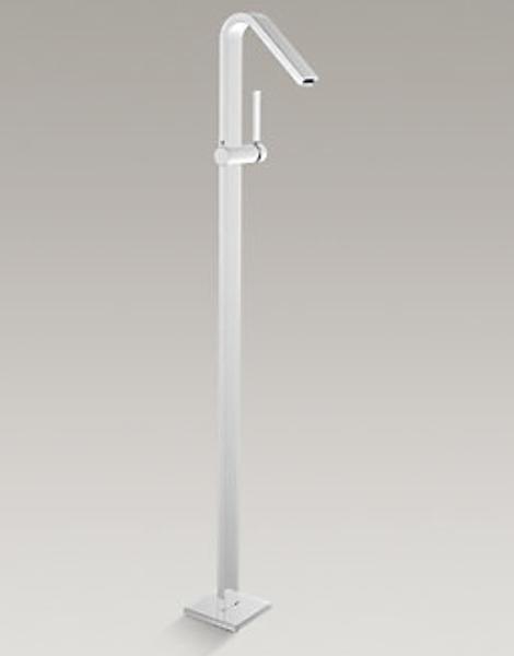 【麗室衛浴】美國 KOHLER活動促銷 LOURE 落地式面盆龍頭 K-97909T-4-CP