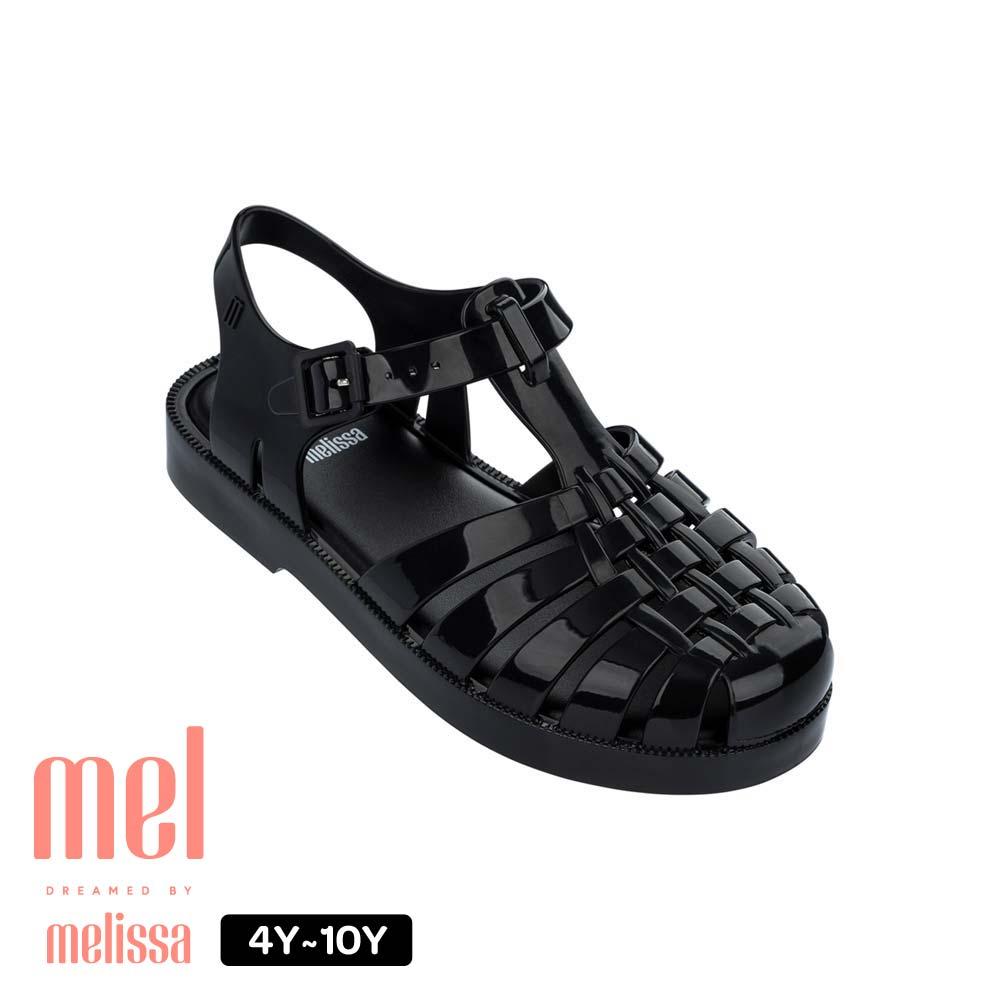 【Kids】果凍漁夫鞋  黑(ML3240901003)