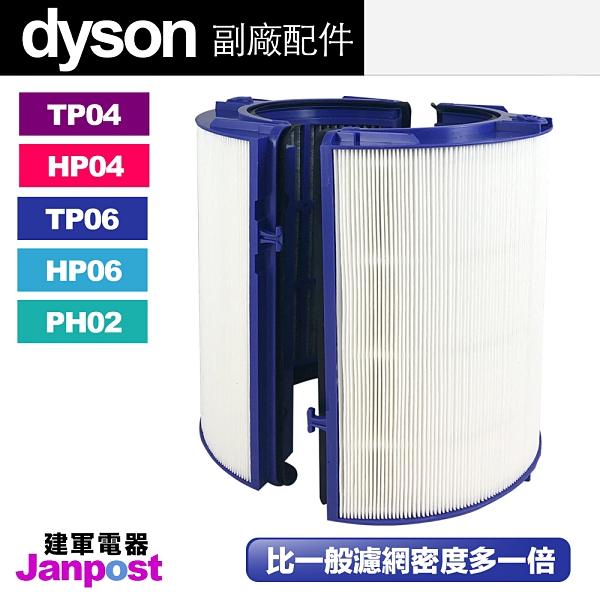 Dyson 戴森 超高密度 副廠濾網 HP06 TP06 (hp04 tp04可用)空氣清淨機 HEPA 活性碳 二合一 複合 濾網 濾芯
