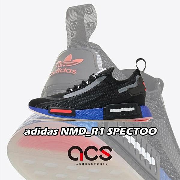 【六折特賣】adidas 休閒鞋 NMD_R1 SPECTOO 黑 紅 男鞋 NASA 美國太空總署 愛迪達 【ACS】 FX6819