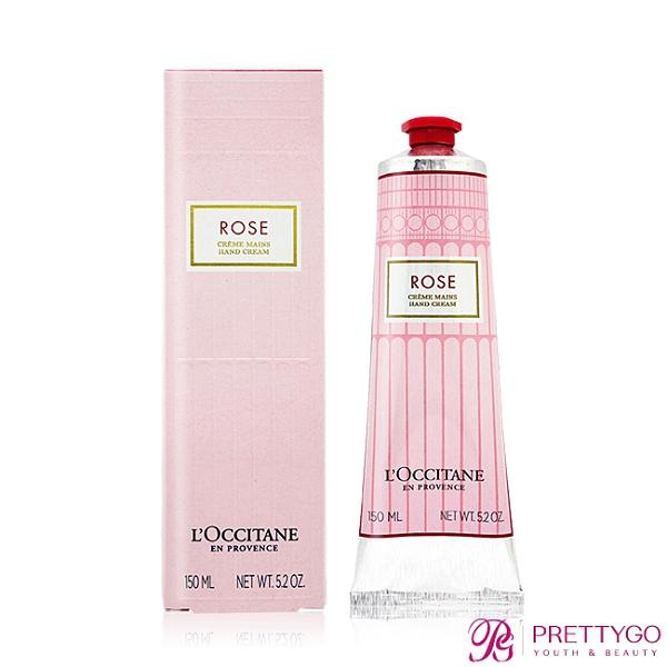 L'OCCITANE 歐舒丹 玫瑰花園護手霜(150ml)-國際航空版【美麗購】