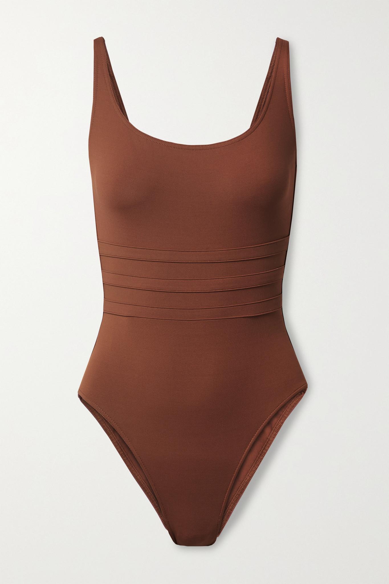 ERES - Les Essentiels Asia Paneled Swimsuit - Brown - FR40