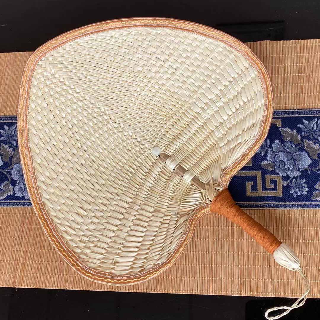 蒲扇 扇子夏古風便攜草編蒲扇老式手工編織棕葉兒童芭蕉扇扇風大蒲扇男