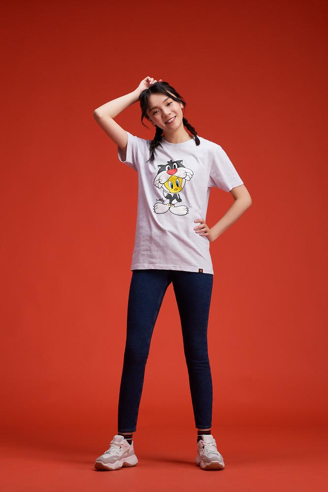 樂一通系列  崔弟與傻大貓款  短袖T恤