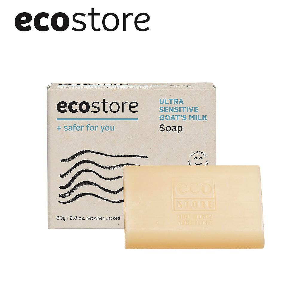 【ecostore紐西蘭原裝進口】純淨香皂-純羊乳 80g