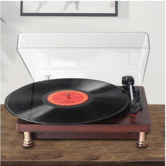 【臺灣現貨】電唱機歐式黑膠唱片機 黑膠唱片機 藍芽音箱