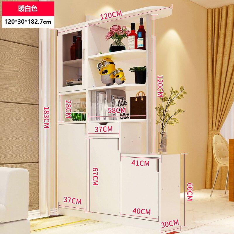 櫃子 玄關柜客廳隔斷柜鞋柜一體進門雙面屏風裝飾柜置物架酒柜簡約現代