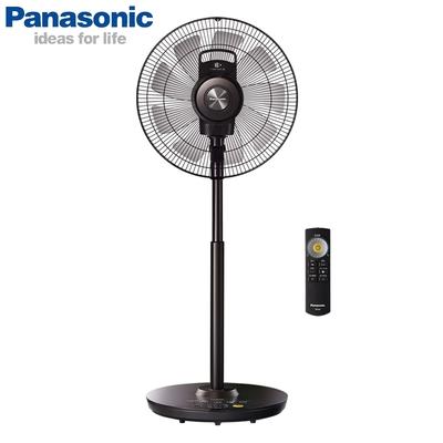 Panasonic國際牌 16吋 8段速nanoeX ECO溫控微電腦遙控DC直流電風扇 F-H16EXD-K 極淨型