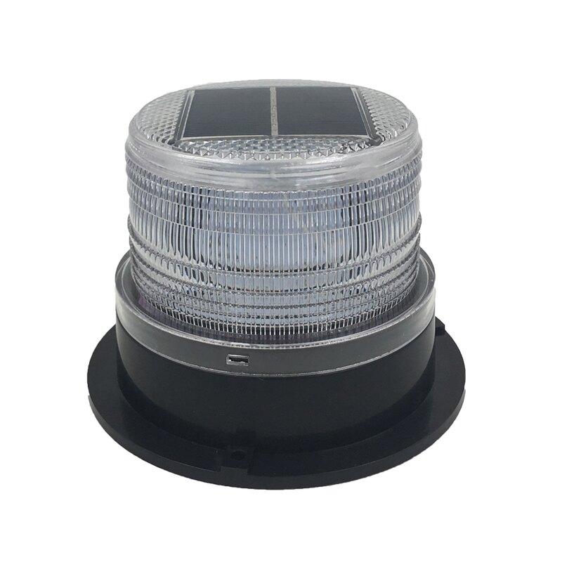 太陽能警示燈 太陽能警示燈爆閃車用車載警示燈夜間安全警示閃光燈磁鐵吸車頂燈『XY20541』