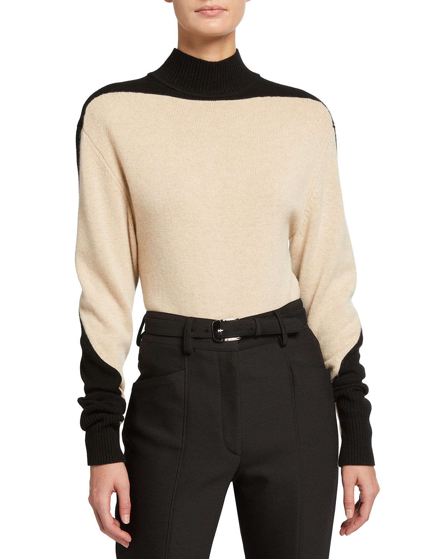 Eco Cashmere Colorblock Sweater