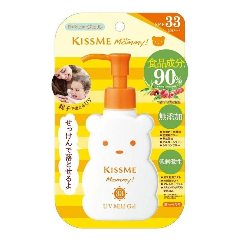 KISS ME Mommy 兒童抗UV 防曬凝露 SPF33+ 100g