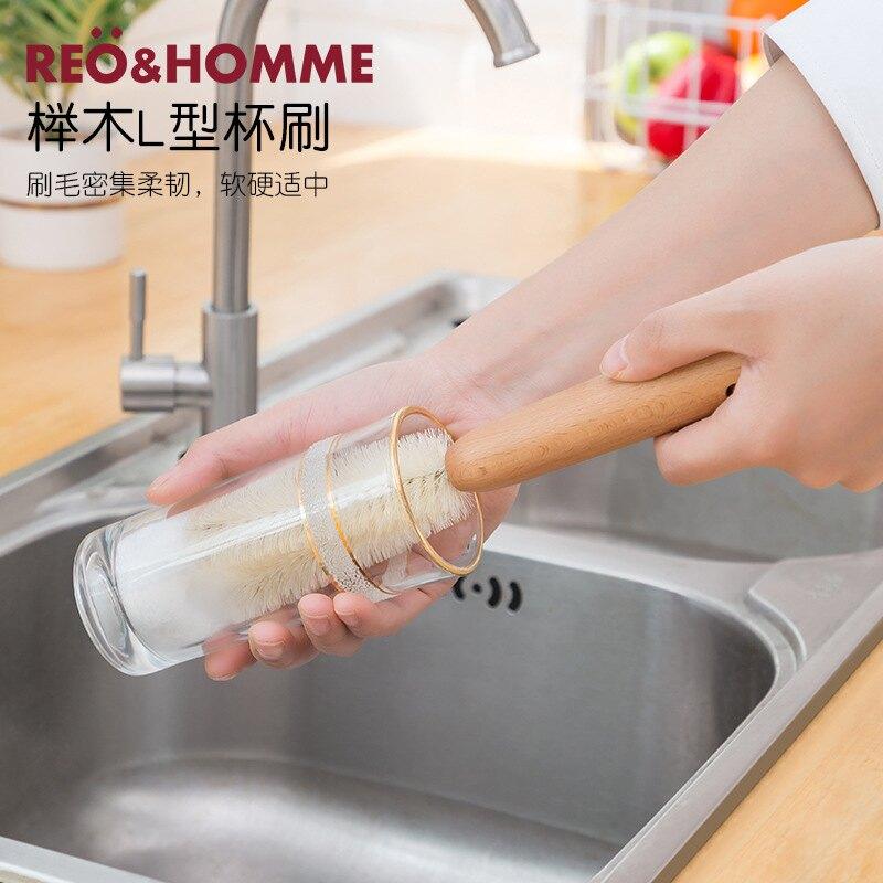 刷鍋神器 廚房洗碗洗鍋清潔刷 家用長柄不沾油鍋刷 懶人清潔刷 百潔布