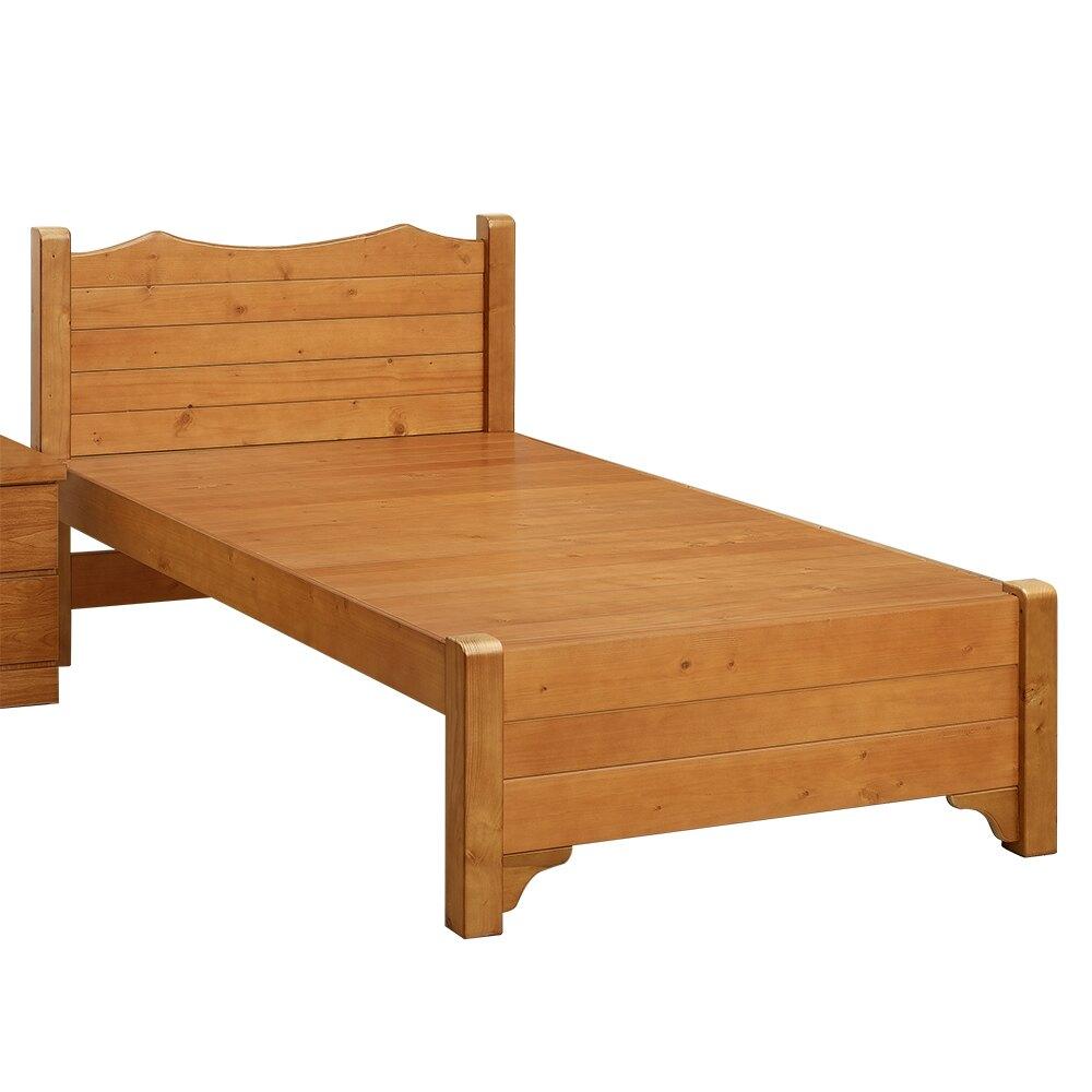 現貨 全實木 專利結構 耐重班森3.5尺單人床 專人組裝 單人加大 實木 床板 床架 床底 手工木製 台灣製 原森道傢俱