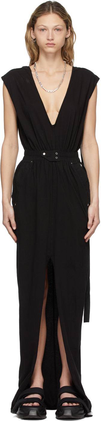 Rick Owens Drkshdw 黑色 Phleg 连衣裙