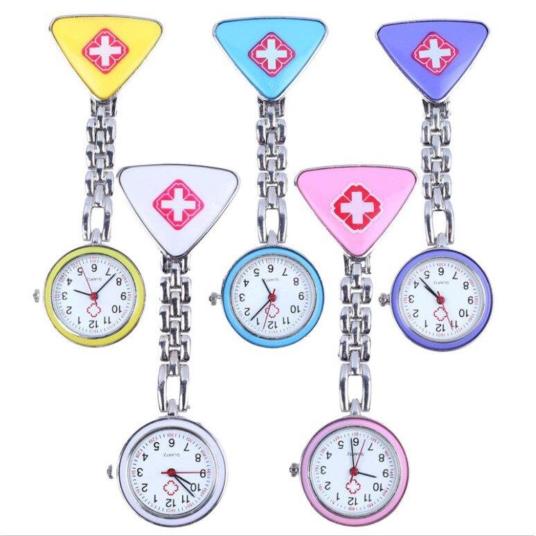 【全館免運】懷錶 護士錶 新款 女款 衛校天使 科室造型 女錶 掛錶 胸表 迷你 考試錶 護士醫生手錶 clickstorevip