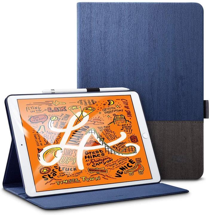 【日本代購】ESR iPad Mini 5 2019 保護殼 合成皮革 自動休眠 提升 功能 iPad Mini5(第五代) 專用