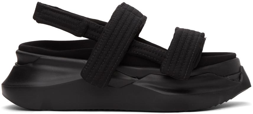 Rick Owens Drkshdw 黑色 Abstract 凉鞋