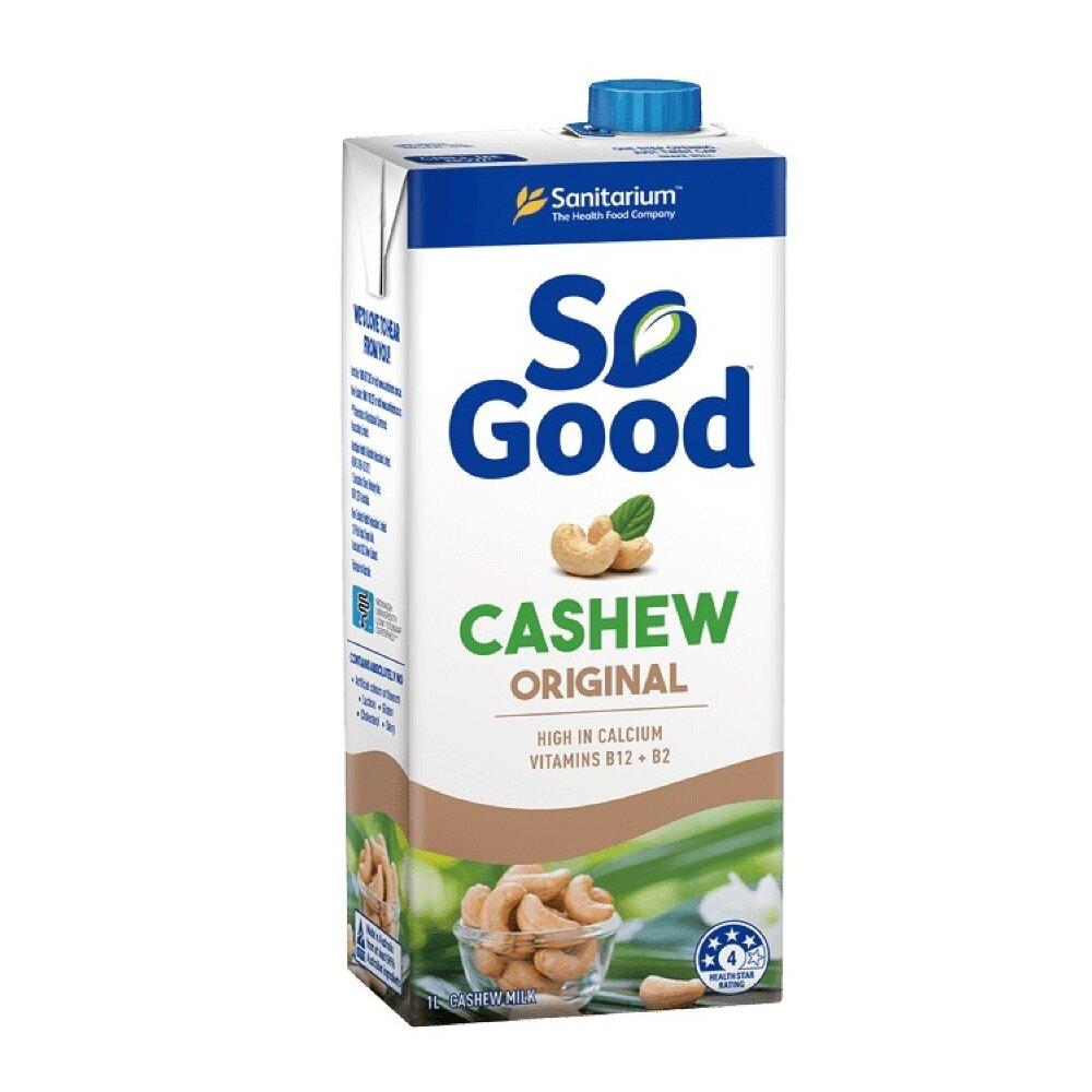 腰果飲 (原味) Sanitarium So Good 1000ml/瓶 (澳洲原裝進口 全素可食) 專品藥局【2018017】