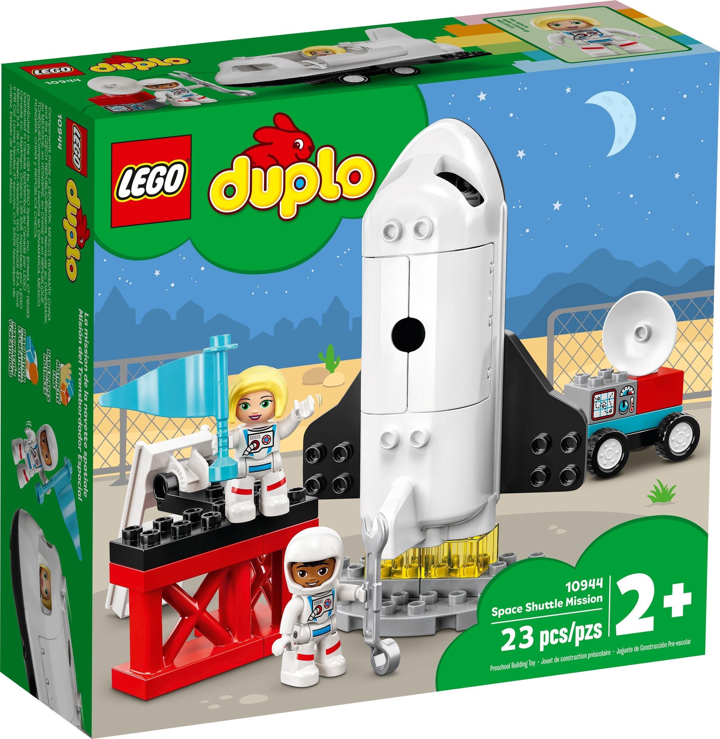 樂高LEGO 10944   Duplo 得寶系列  太空梭任務