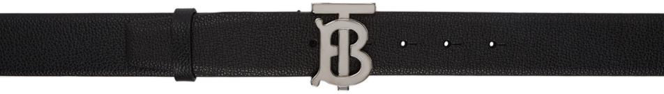 Burberry 黑色 Monogram Motif 腰带