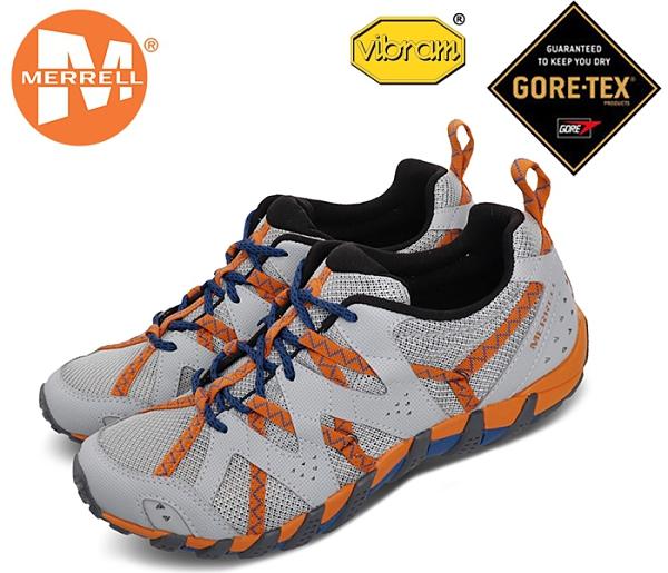 丹大戶外【MERRELL】美國 男款 Waterpro Maipo 2水陸兩用 男鞋 快速排水 淺灰/橘ML034051