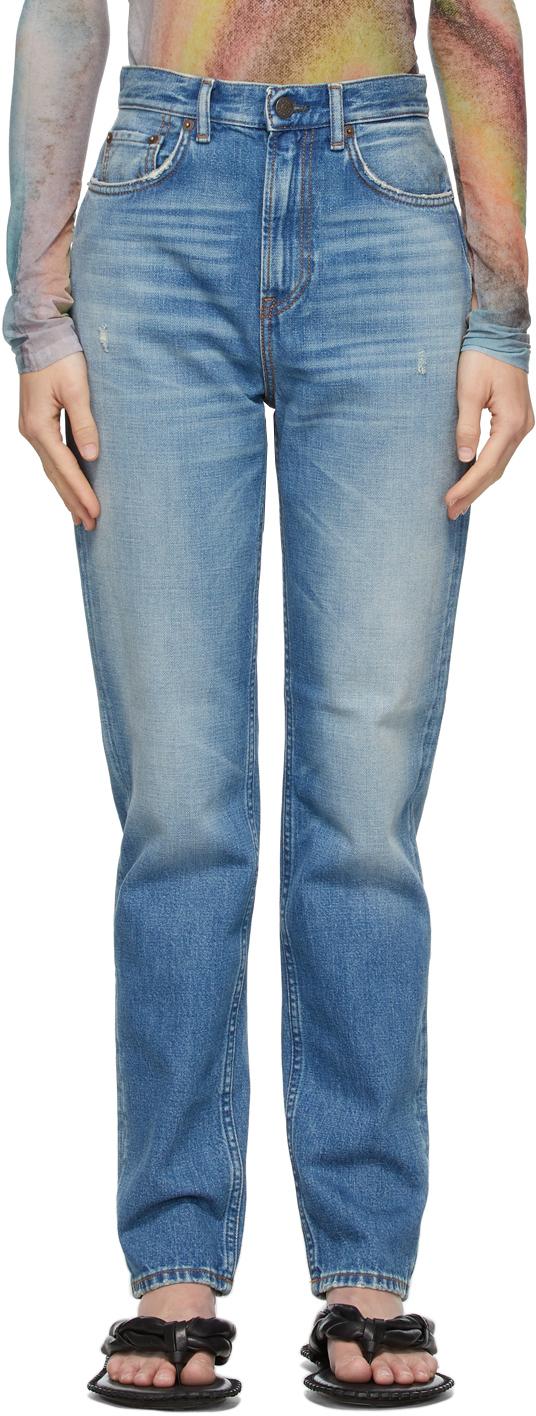 Acne Studios 蓝色 Slim Fit 有机棉牛仔裤