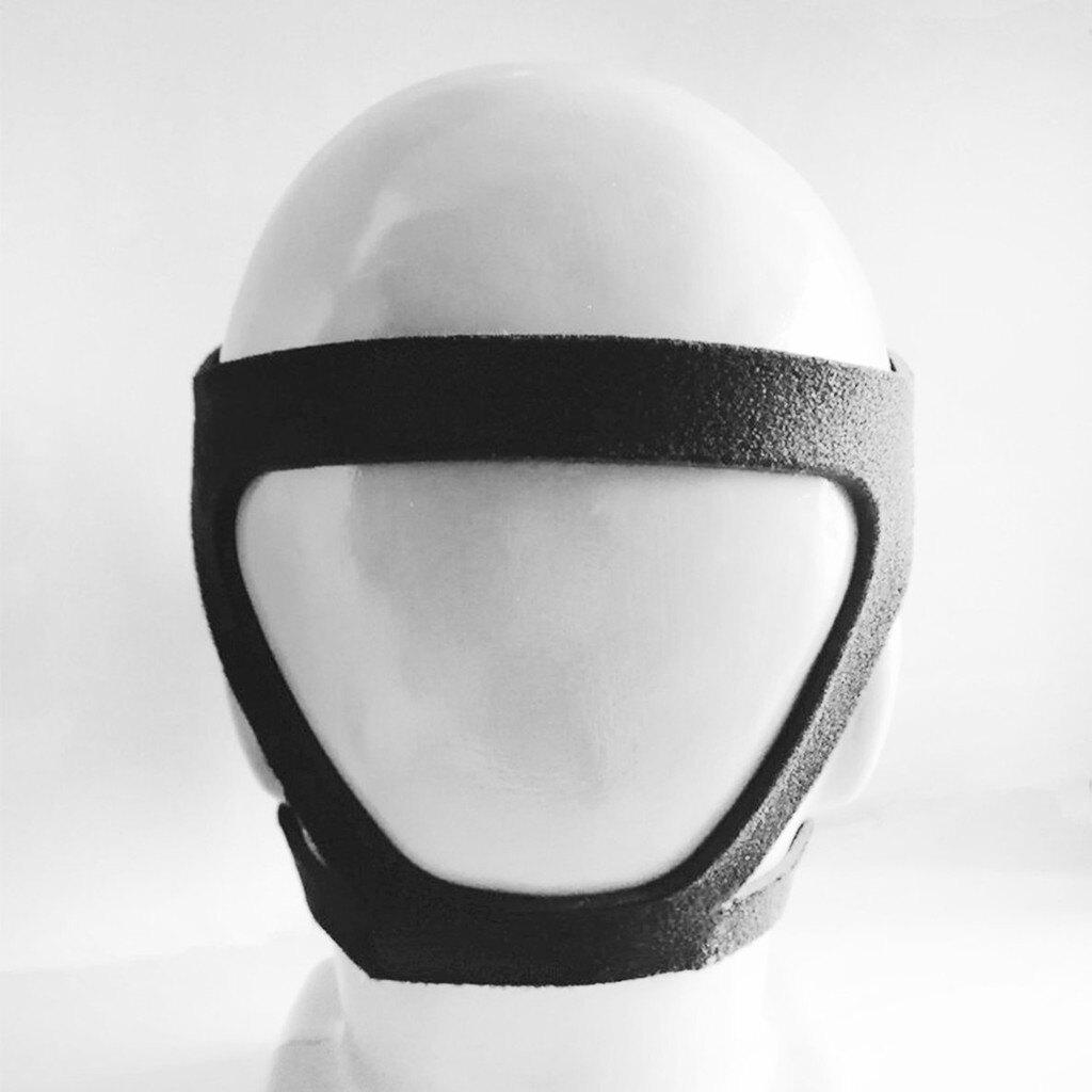 【全館免運】呼吸機面罩頭帶通用款四點式頭帶黑色 偉康呼吸機面罩頭帶 通用型頭帶 面罩頭帶 鼻罩頭帶 呼吸機配件