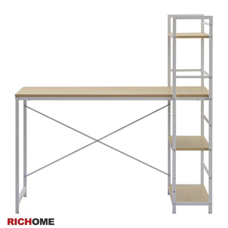 工作桌 電腦桌 辦公桌 書桌 收納架  RICHOME DE203 雅達多功能工作桌