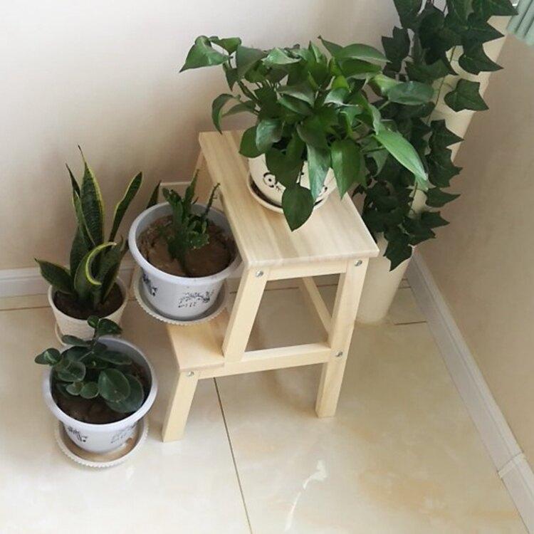梯凳 宜家IKEA貝卡姆踏腳凳換鞋凳樓梯凳高低創意實木小梯子小凳子梯凳『XY20450』