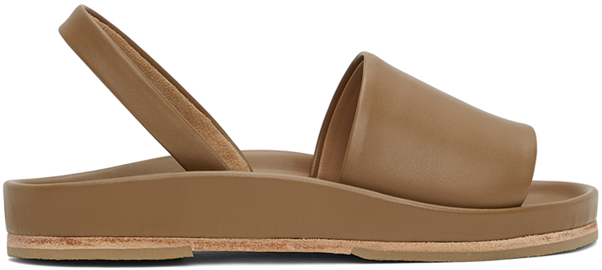 Lauren Manoogian 灰褐色 Contour 凉鞋