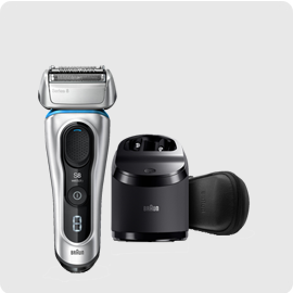 小倉家 德國製 【8391CC】電動刮鬍刀 8系列 刮鬍刀 3D刀頭 音波振動