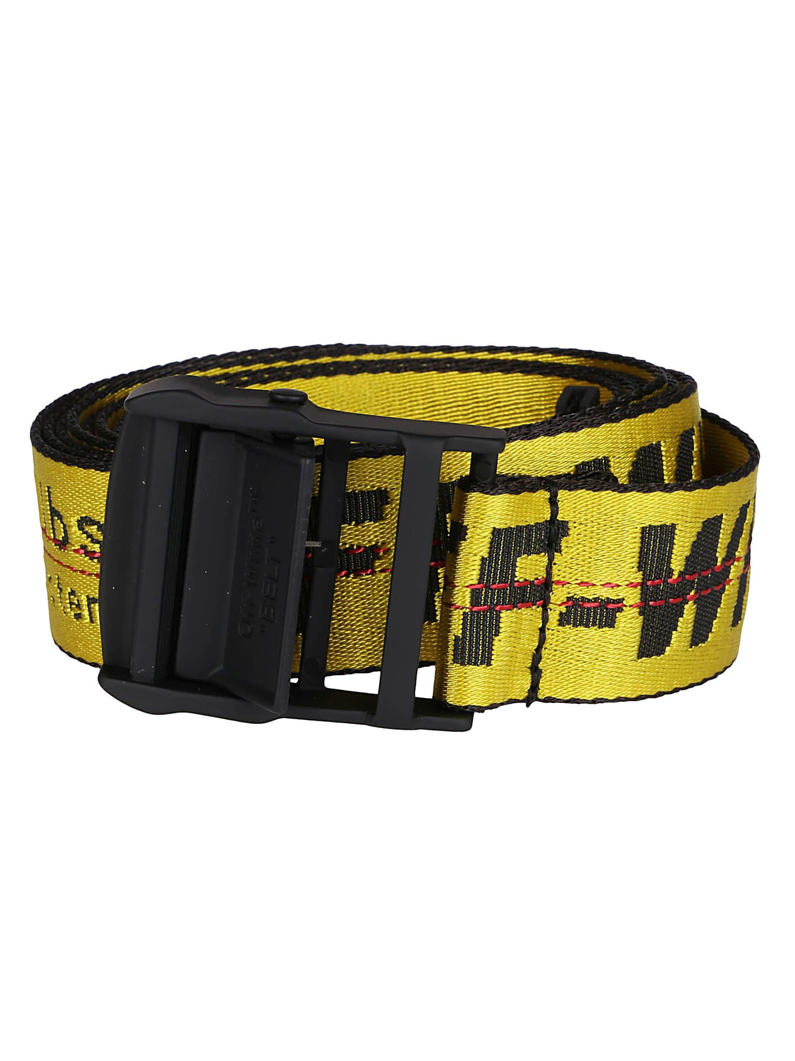 Yellow Canvas Industrial Belt