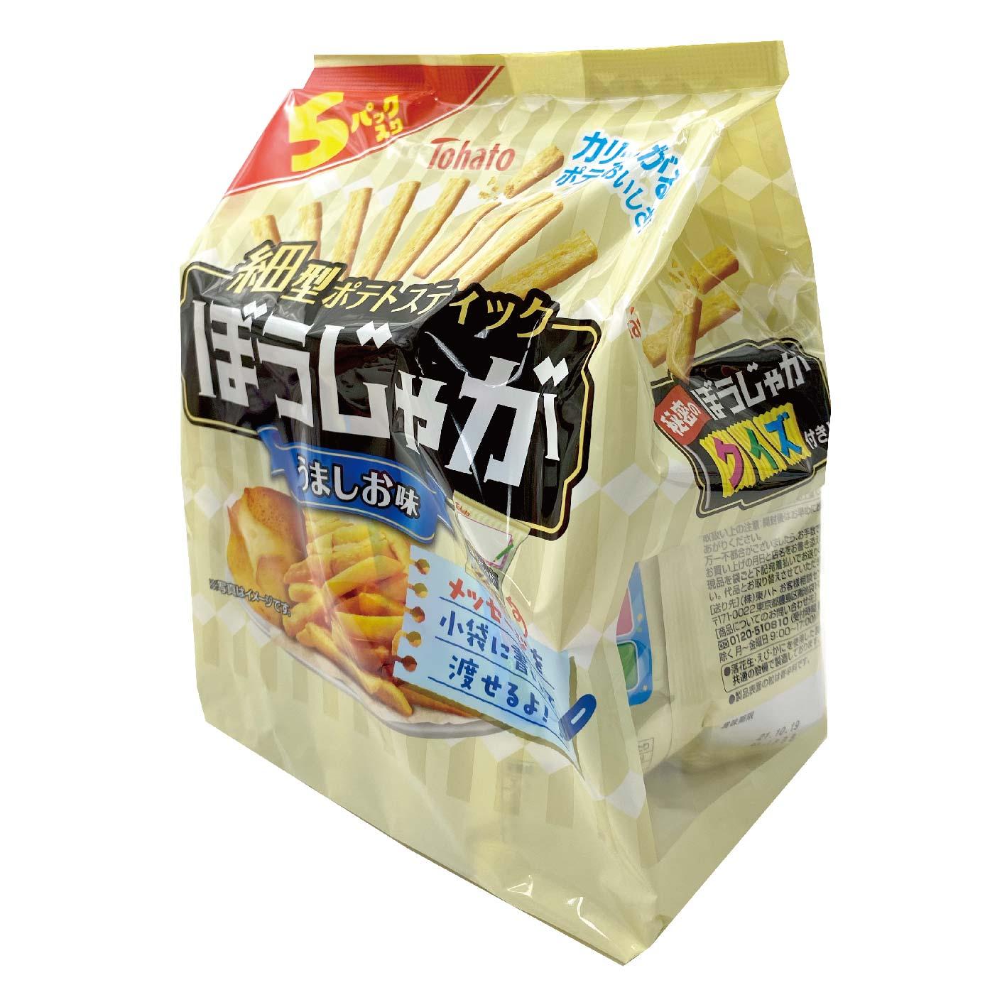 日本 東鳩 5p 鹽味 洋芋條餅85g 薯條脆餅