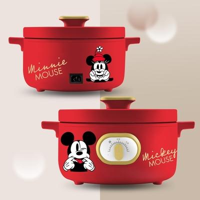 Disney 迪士尼 米奇米妮-宴紅-3公升多功能鍋MM-CD2101