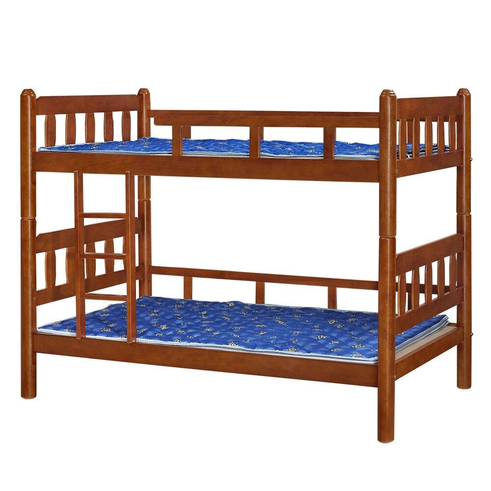 【全館現貨 下殺45折起】蘿莎實木3.5尺雙層床(不含床墊)專人組裝 宿舍公寓 上下舖 兒童床 台灣製 原森道