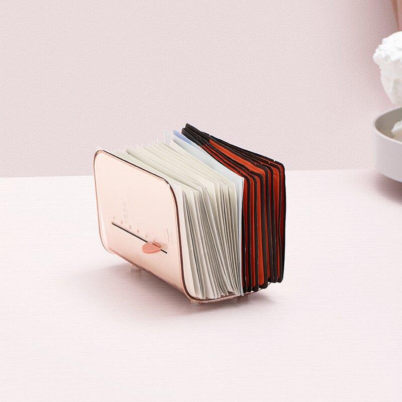 30片大容量 透明 面膜盒 創意時間 刻度護膚 面膜收納盒 化妝品整理盒 面膜 收納 化妝品收納盒 化妝品整理盒