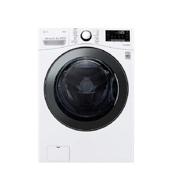 【南紡購物中心】LG樂金【WD-S17VBD】17公斤滾筒蒸洗脫烘白色洗衣機
