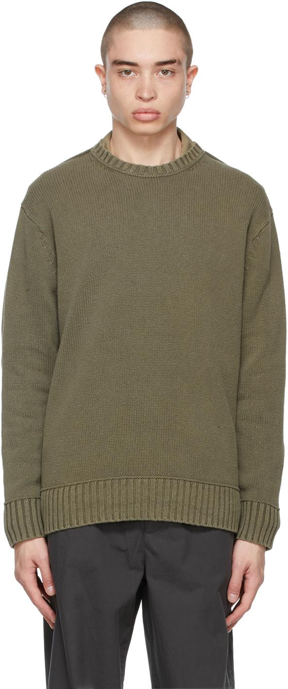 Acne Studios 绿色圆领针织衫