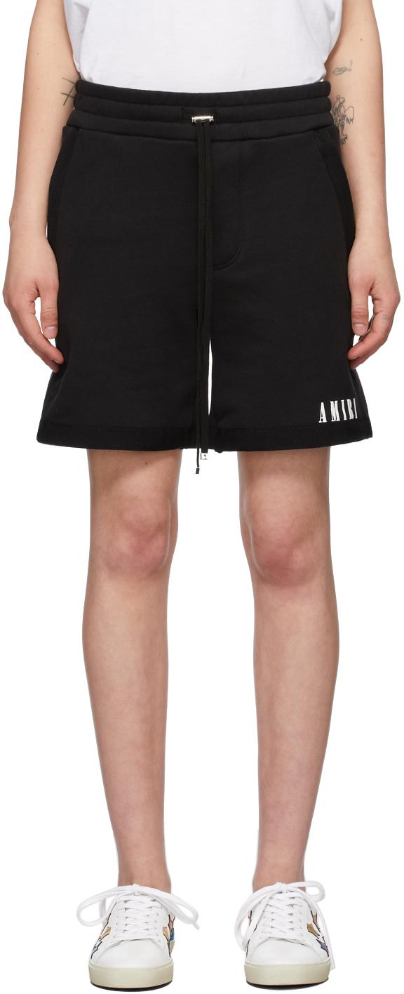 AMIRI 黑色 Core Logo 短裤