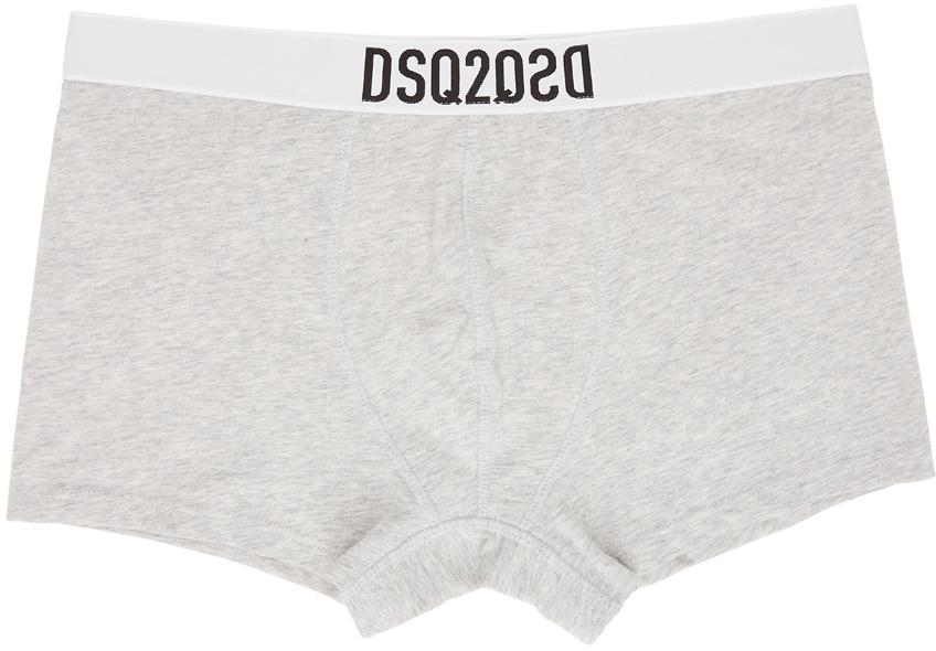 Dsquared2 灰色 DSQ2 平角内裤