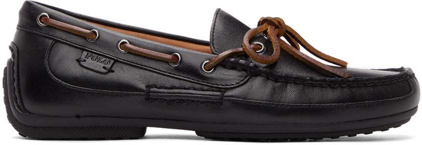 Polo Ralph Lauren 黑色 Roberts 乐福鞋