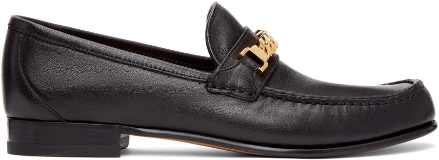 Gucci 黑色马衔索乐福鞋