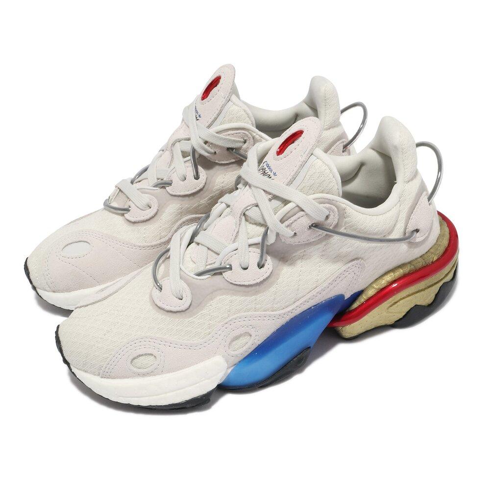 ADIDAS 休閒鞋 Torsion X 復古 男女鞋 海外限定 bosst中底 流行 球鞋 灰 藍 [FV4552]