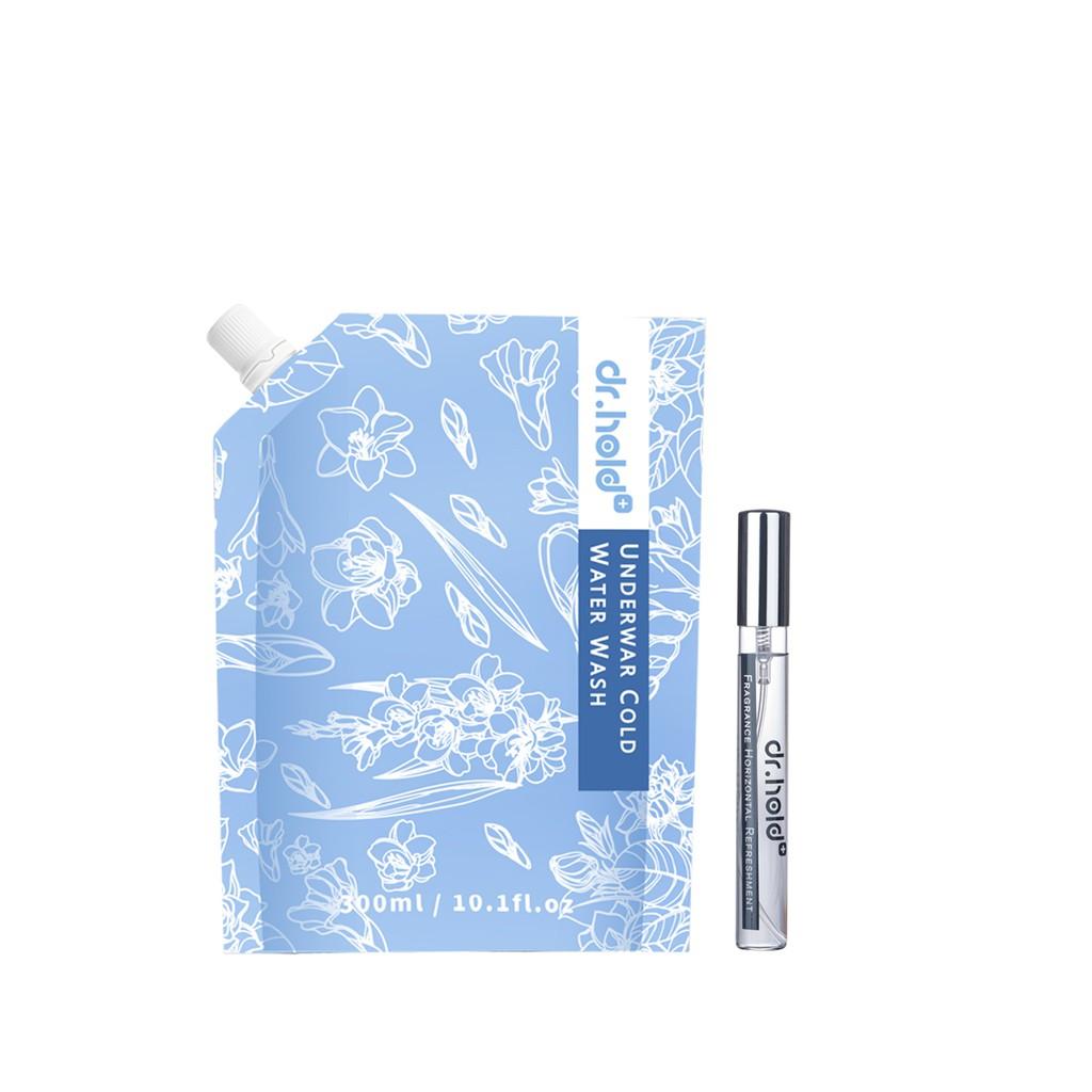 【黛后dr.hold】新品上市|衣物清潔 小蒼蘭抗菌私密手洗精x1 + 香性香水x1