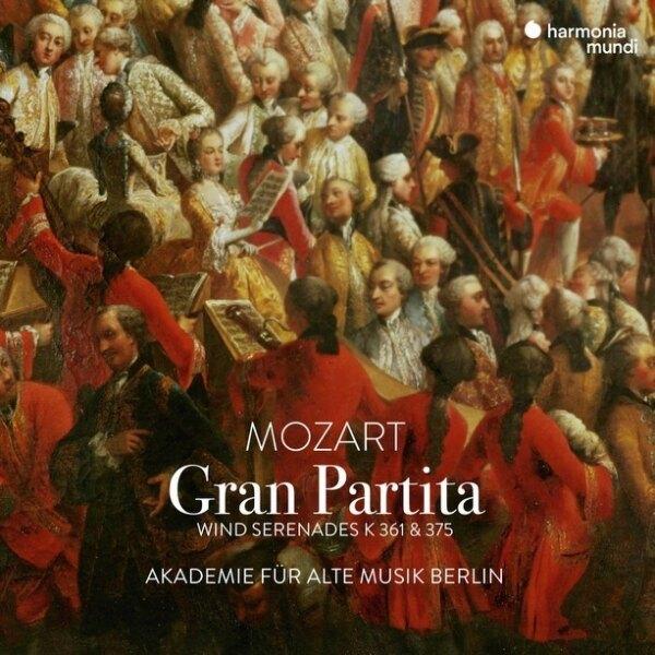 【停看聽音響唱片】【CD】莫札特:華麗組曲(木管小夜曲) 柏林古樂學會樂團