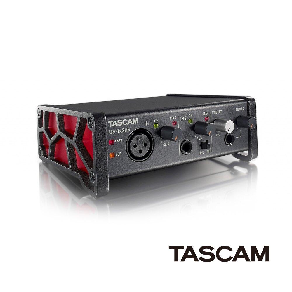 ..  【日本 TASCAM 】達斯冠 US-1x2HR 錄音介面 USB Type-C 輕巧 小型 直播 正成公司貨