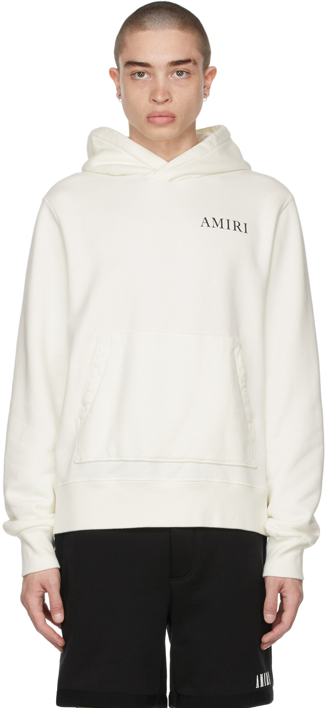 AMIRI 白色 Psychedelic Fitted 连帽衫