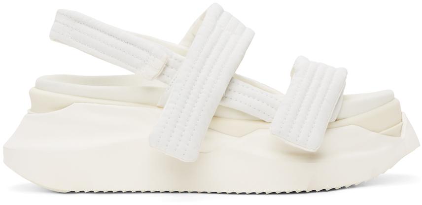Rick Owens Drkshdw 白色 Abstract 凉鞋