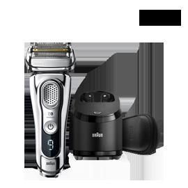 嘉頓國際 【9395CC-V】電動刮鬍刀 新9系列 音波電動 快充 防水 自動清洗座 國際電壓