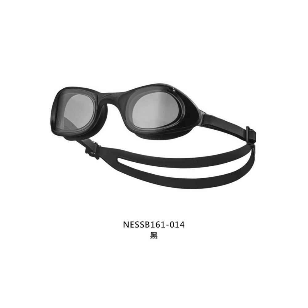 NIKE SWIM 成人超廣角泳鏡(蛙鏡 游泳 戲水 海邊 沙灘「NESSB161-014」≡排汗專家≡